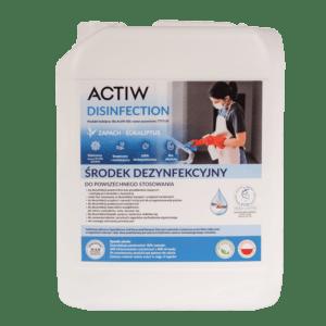 ActiW Disinfection 5l dezynfekcja biur , Bio ActiW, wirusy