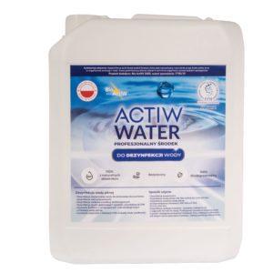 ACTIW WATER 5L Koncentrat Uniwersalny Środek bakteriobójczy, wirusobójczy i grzybobójczy.Produkt do użytku profesjonalnego. Dezynfekcja wody.