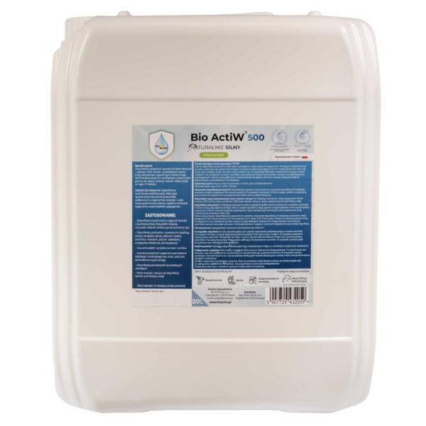 bio-actiw-500-20l , dezynfekcja zamgławianie, ULV zamgławiacz