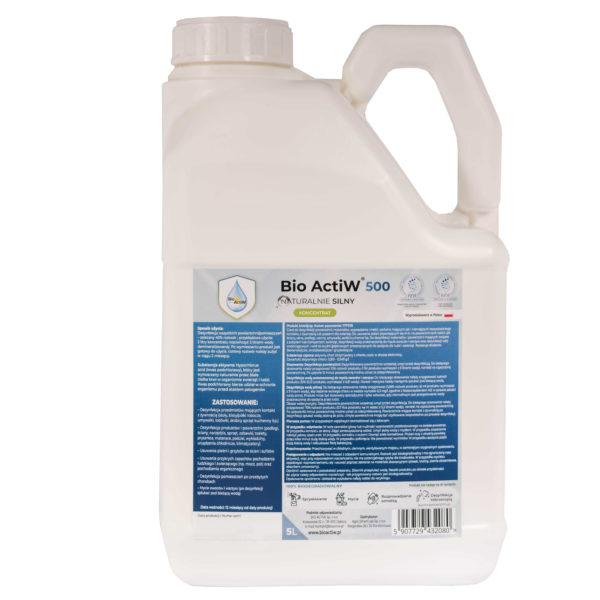 bio-actiw-500-10l , dezynfekcja zamgławianie, ULV zamgławiacz
